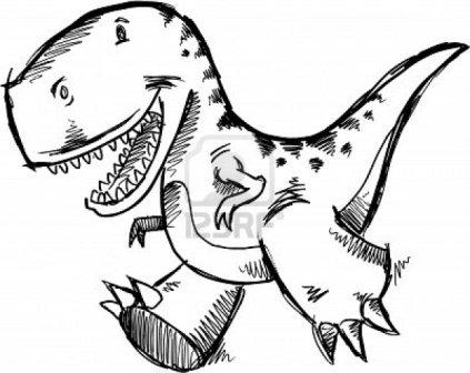 Dinosaurio para colorear  DINOSAURIOPEDIA